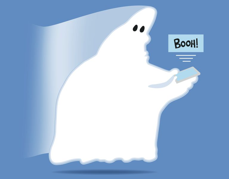 Ghost texting BOOH!