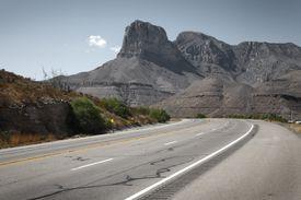 Guadalupe Peak, Salt Flat, Texas, USA