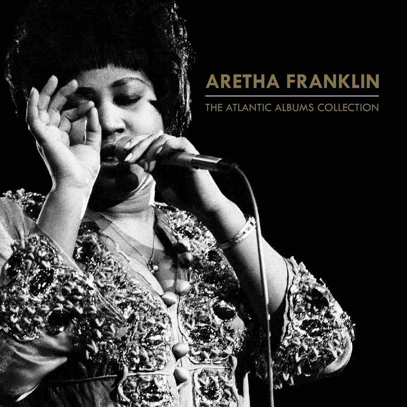 Aretha Franklin album art.