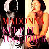 Madonna's Keep It Together cover