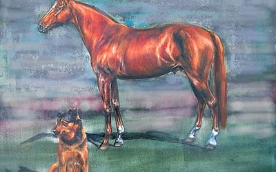 Horse Painting Watercolor Step By Step Demo