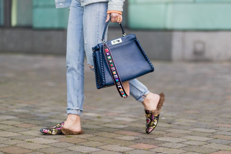 Street style jeans and accessories