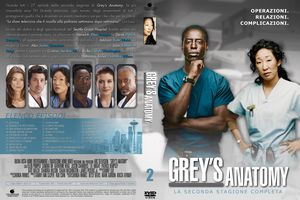 Grey's Anatomy Season 2 DVD cover