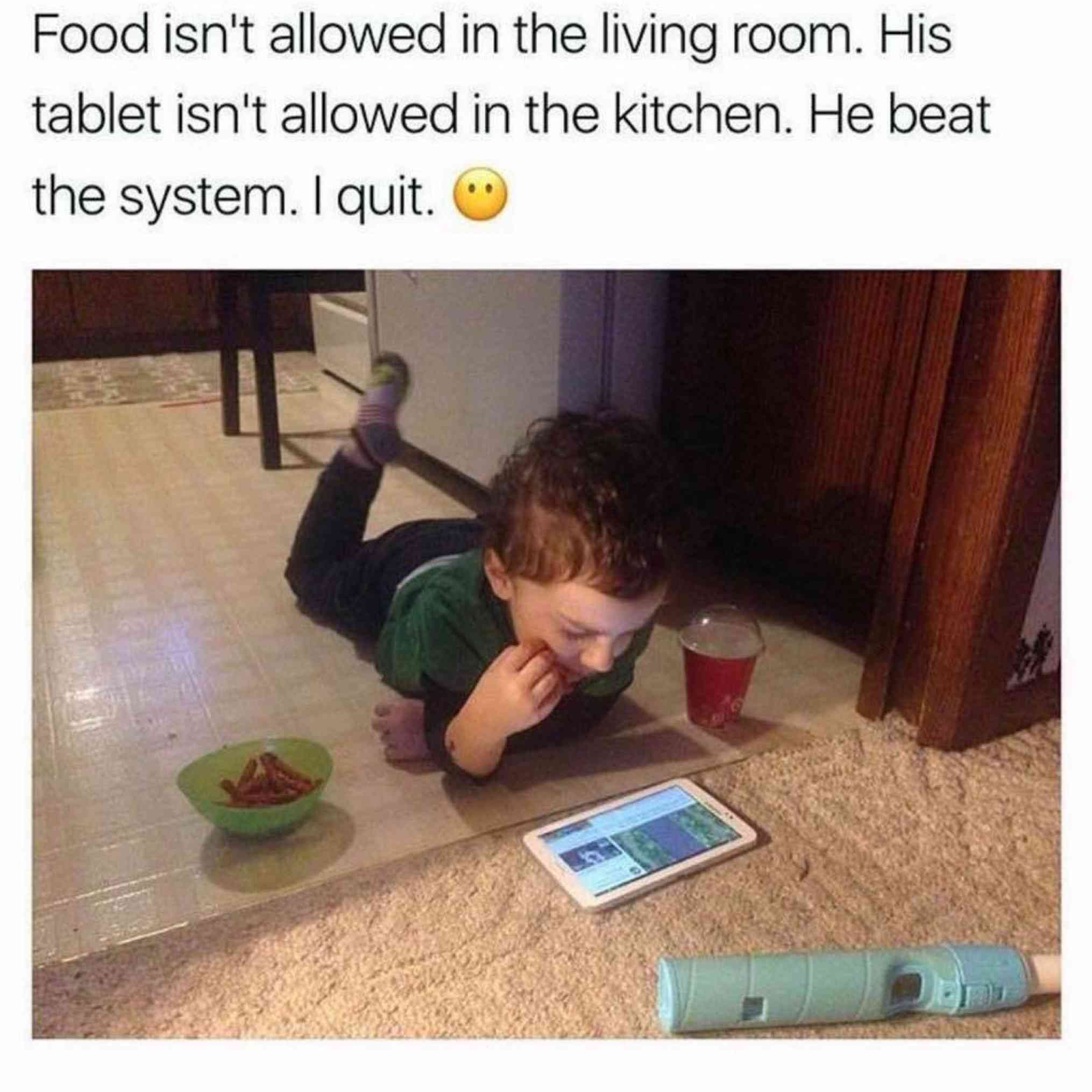 kid food win