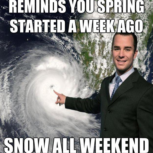 weatherman spring meme