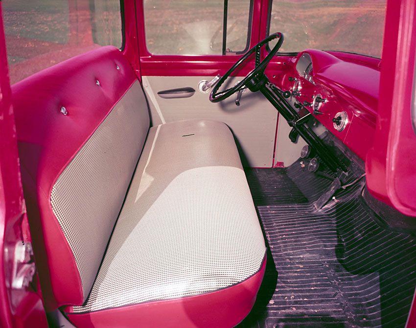 1955 Ford F-100 Truck Interior
