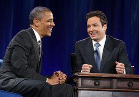 President Obama Visits Jimmy Fallon