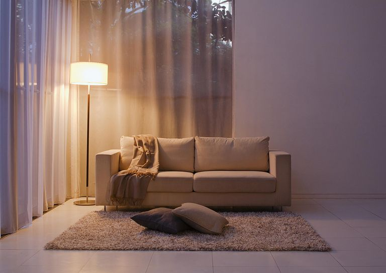 An empty living room