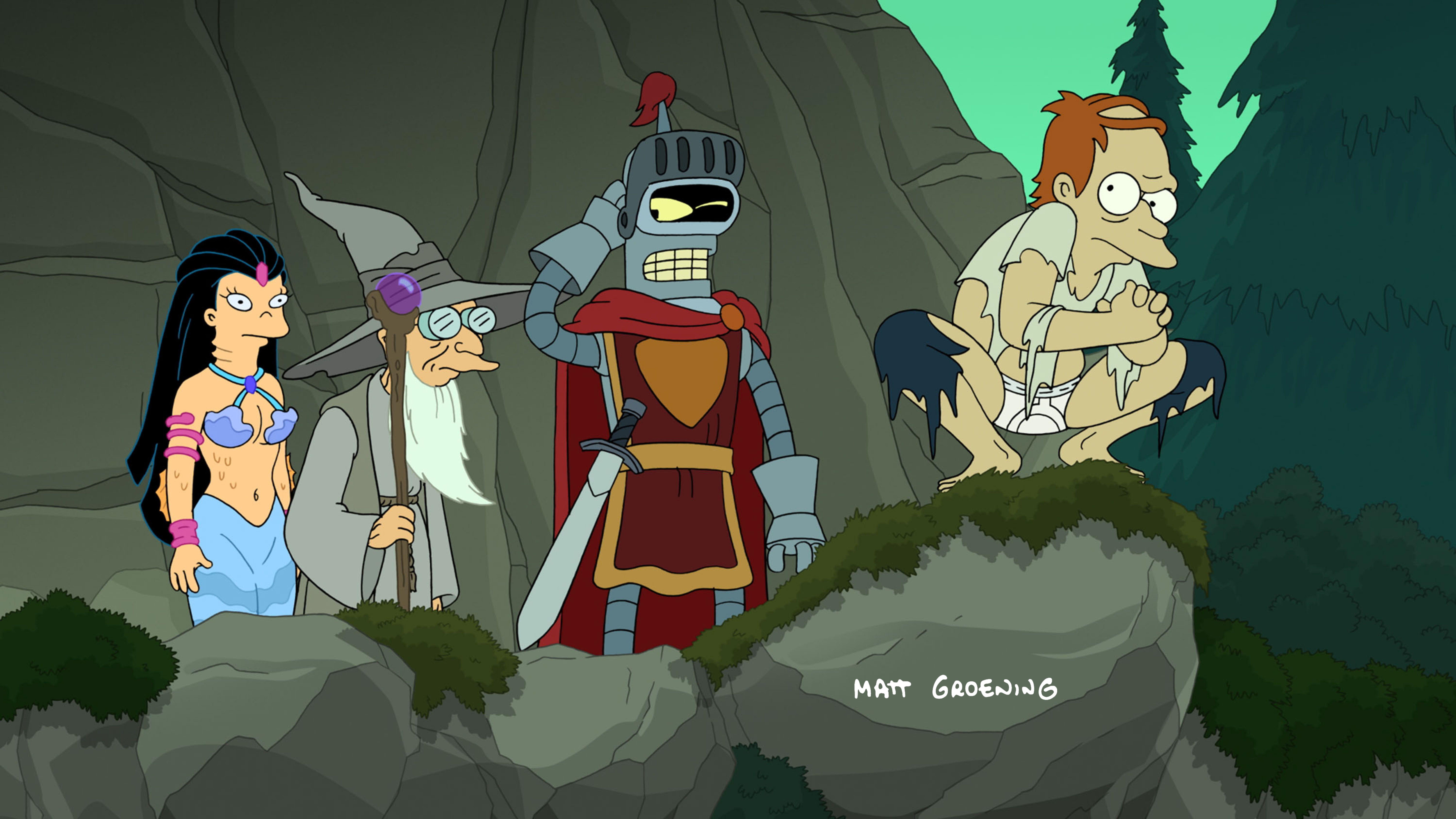 Futurama - Bender's Game