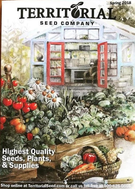 The Spring 2018 Territorial Seed Company catalog