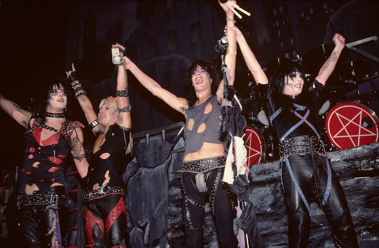 Photo of MOTLEY CRUE and Nikki SIXX and Vince NEIL and Tommy LEE and Mick MARS