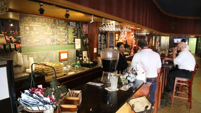 Bar at King Corona Cigars in Ybor City, Tampa