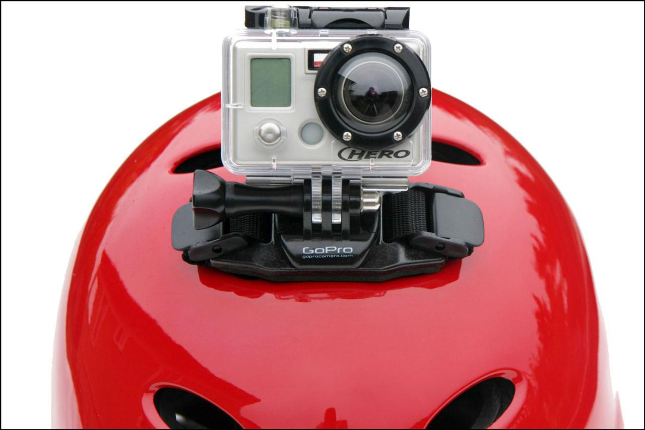 GoPro on Helmet