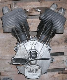 1000-cc J.A.P. Engine
