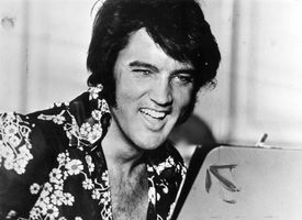 Laughing Elvis