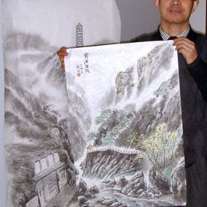 Step-by-Step Chinese Painting Demonstration
