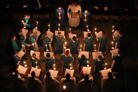 A choir