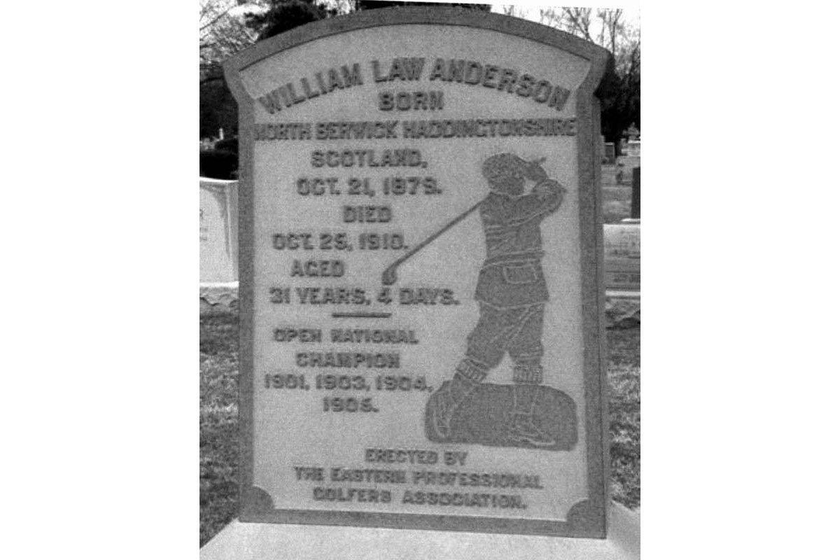 Willie Anderson's memorial