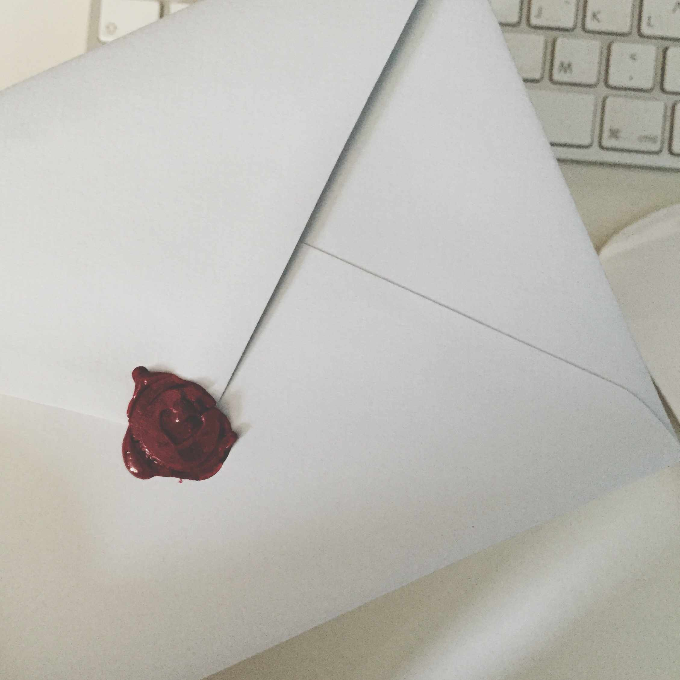 Image of a Letter and a Keyboard