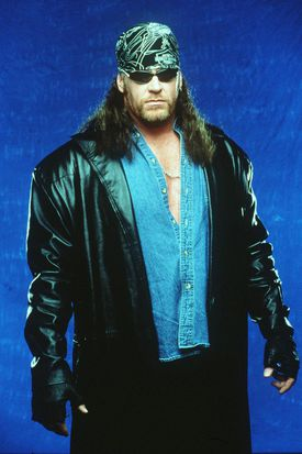 World Wrestling Federation's Wrestler Undertaker Poses June 12, 2000 In Los Angeles, Ca.