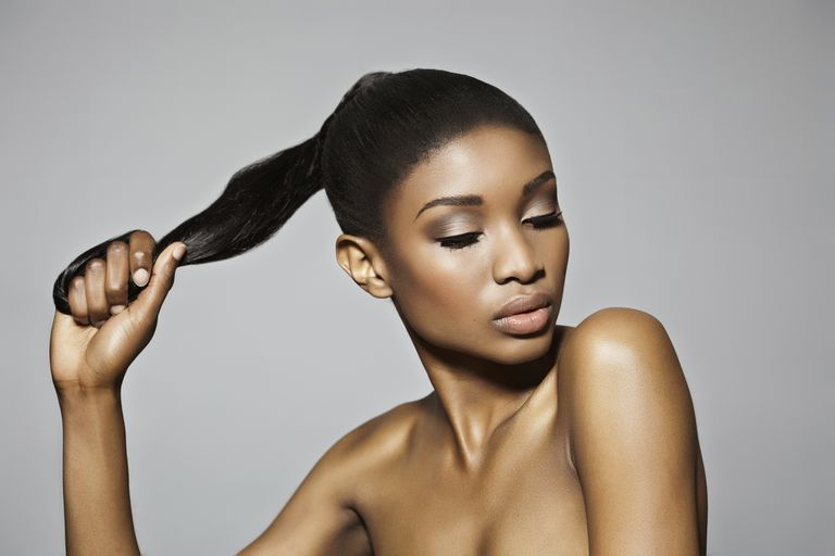 Keep your hair strong yet soft with moisture and protein.