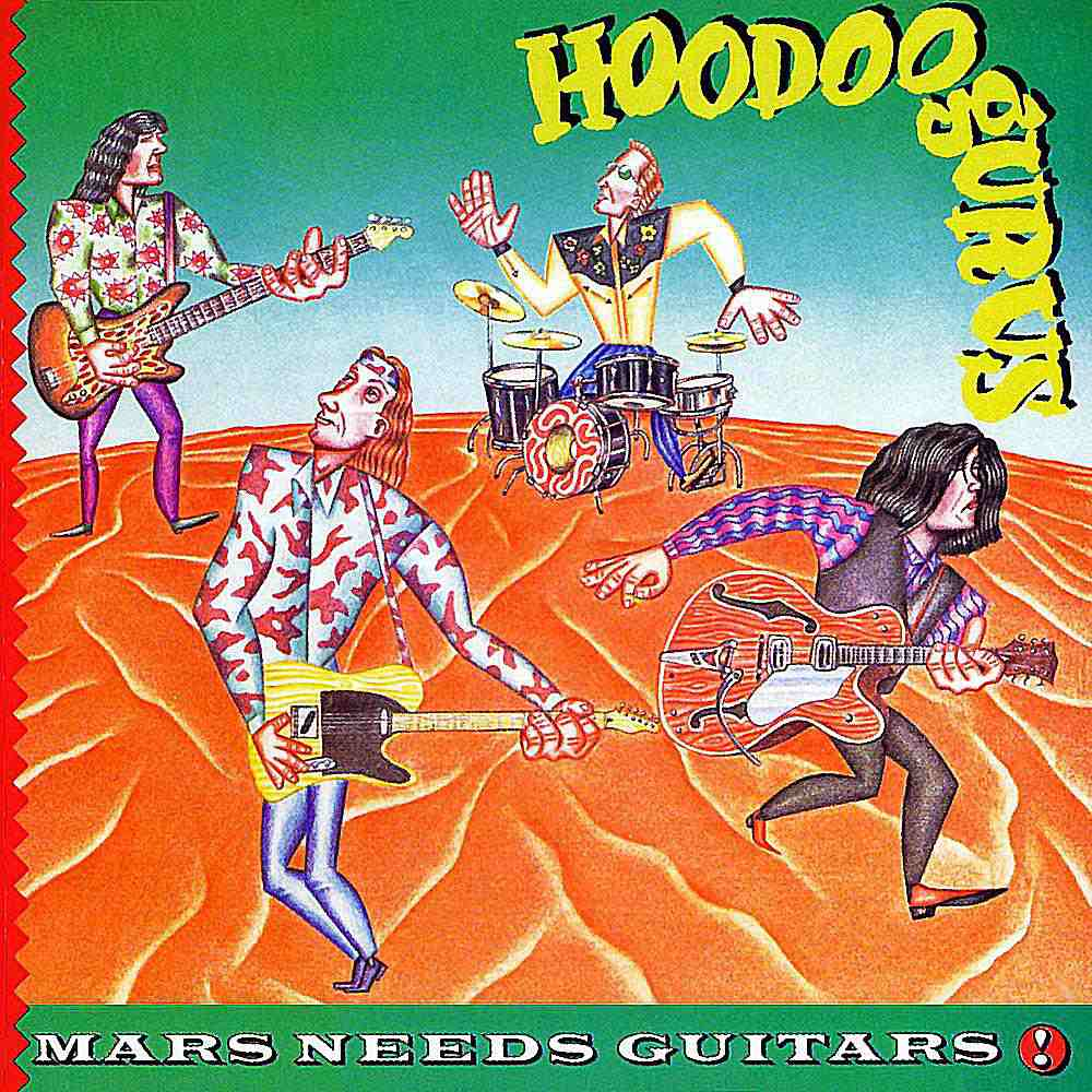 Australia's Hoodoo Gurus released a number of unpredictable, melodically pleasing albums throughout the '80s.