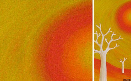 Fine Art Painting Techniques Blending Colors