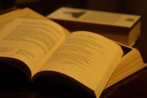 Books Open to Poetry