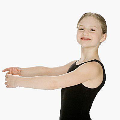 Ballet arm position