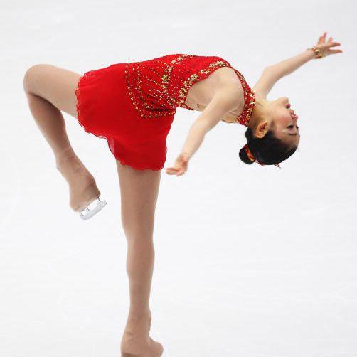 Kim Yu-Na of South Korea