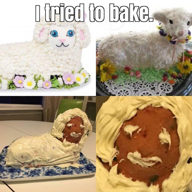 Expectation vs Reality: Baking