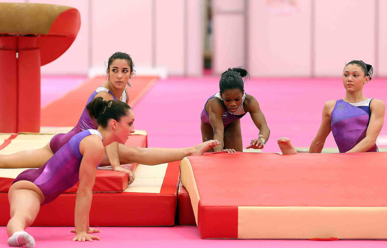 2012 Olympic Team Fierce Five Gymnastics