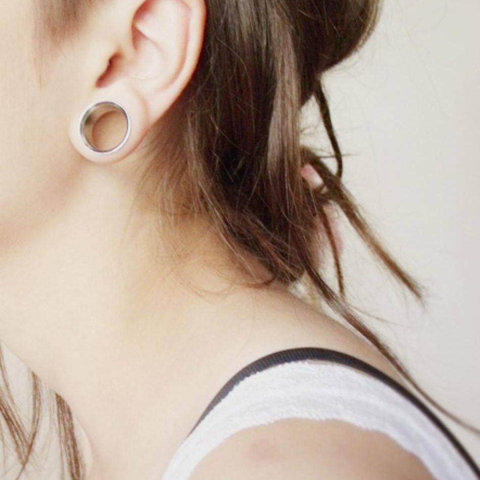 Stretched Ear Lobe Gauges Can They Shrink Back