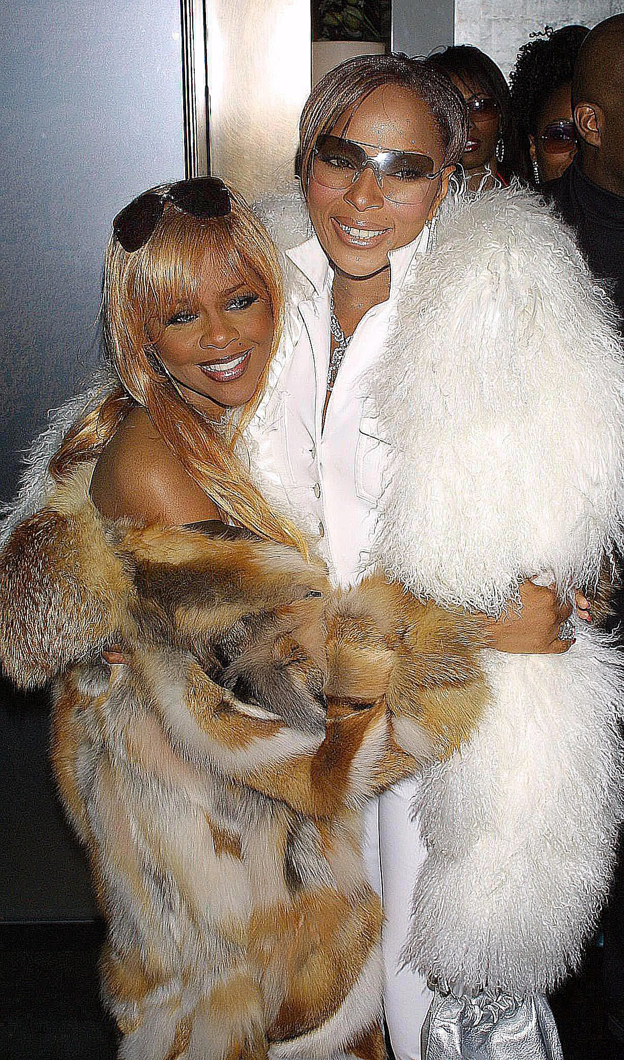Lil Kim and Mary J. Blige