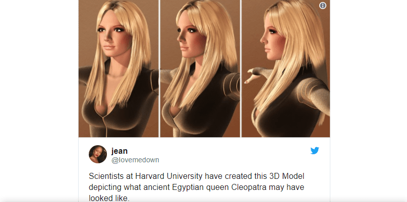 Britney Spears is Cleopatra meme