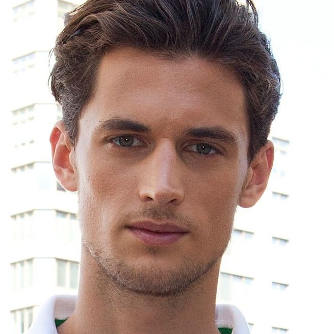 Awesome Men Hairstyle Back PNG