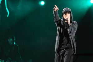Eminem performs at Coachella Music Festival