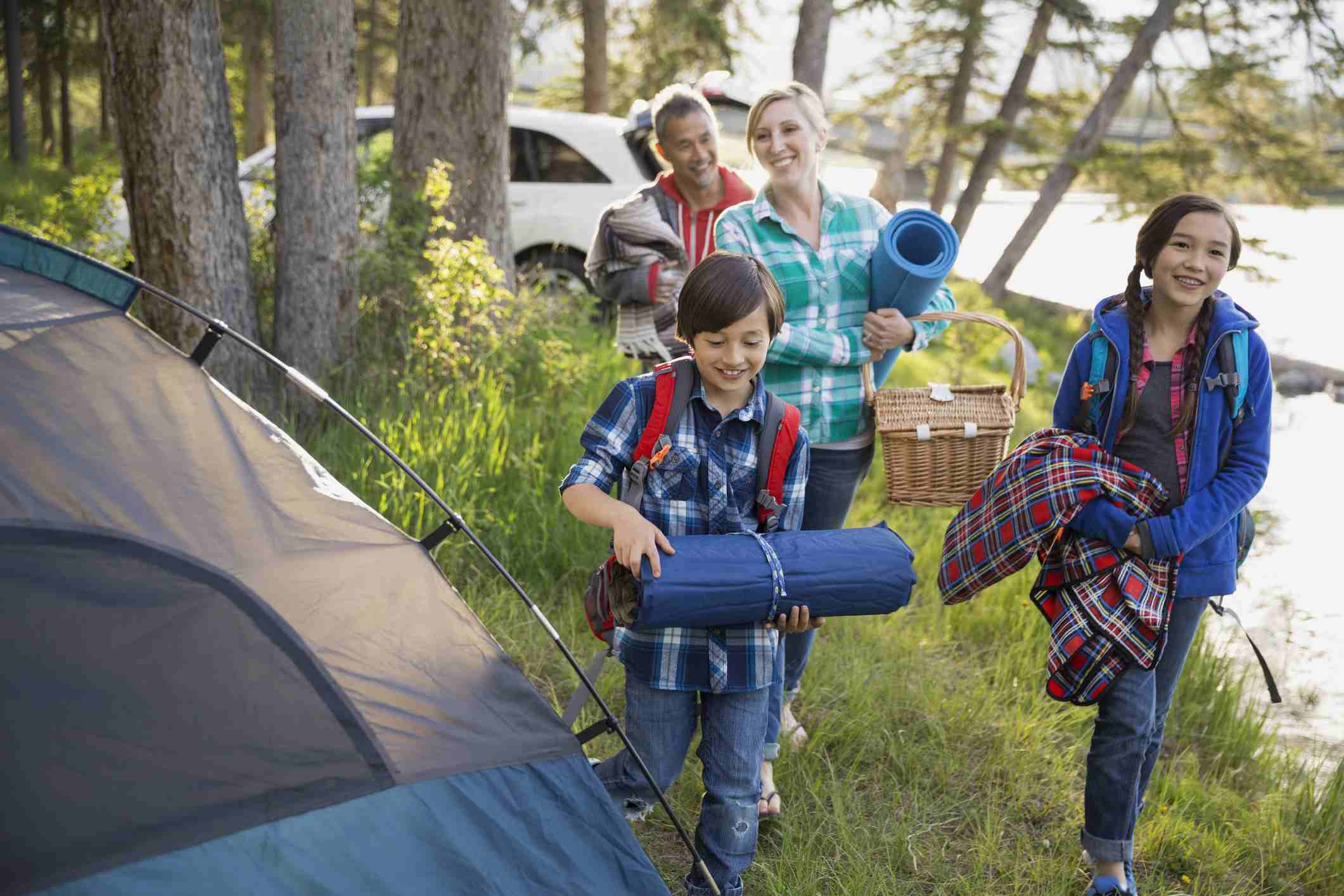 Setting Up a Campsite