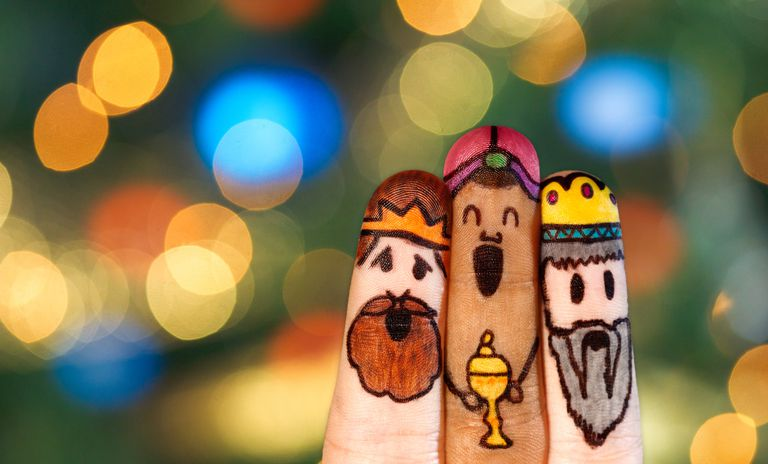 we three kings fingers