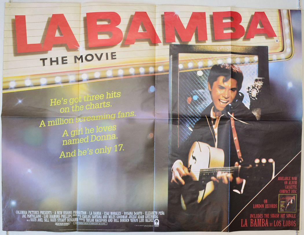 La Bamba Movie Poster