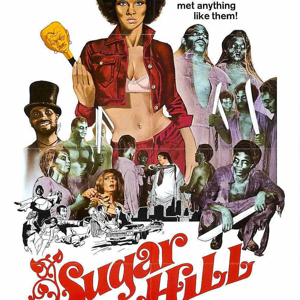 Sugar Hill African-American horror movie