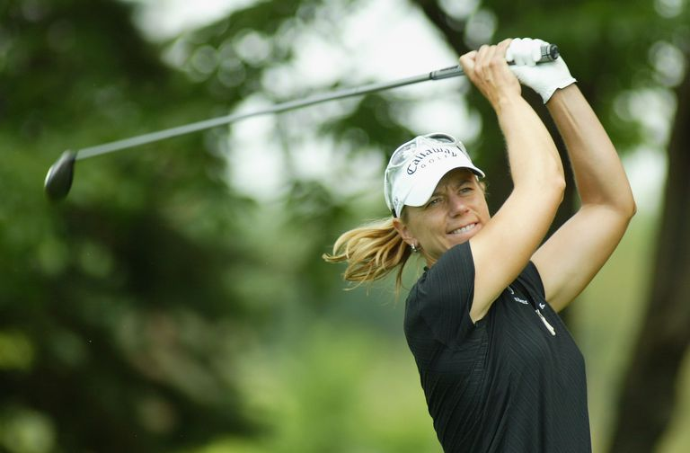 Annika Sorenstam pictured during the 2005 US Women's Open