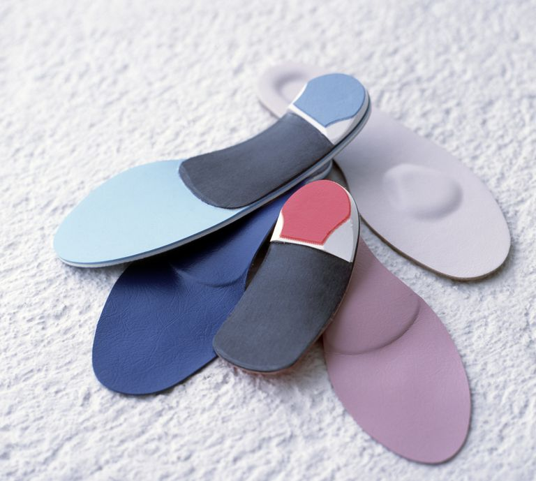 Bespoke orthotic insoles for running shoes