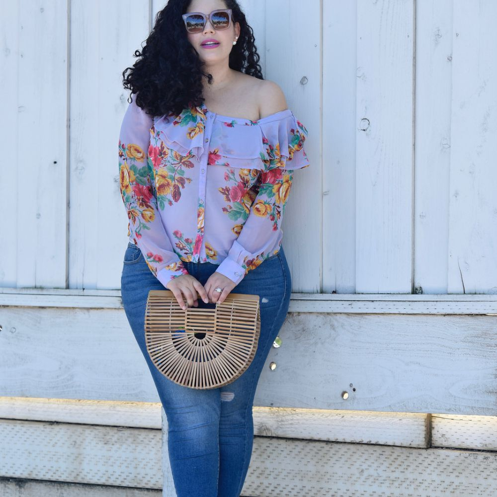781e8ff91 14 Plus Size Jeans Outfits That Will Turn Heads