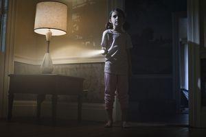 Child with Flashlight