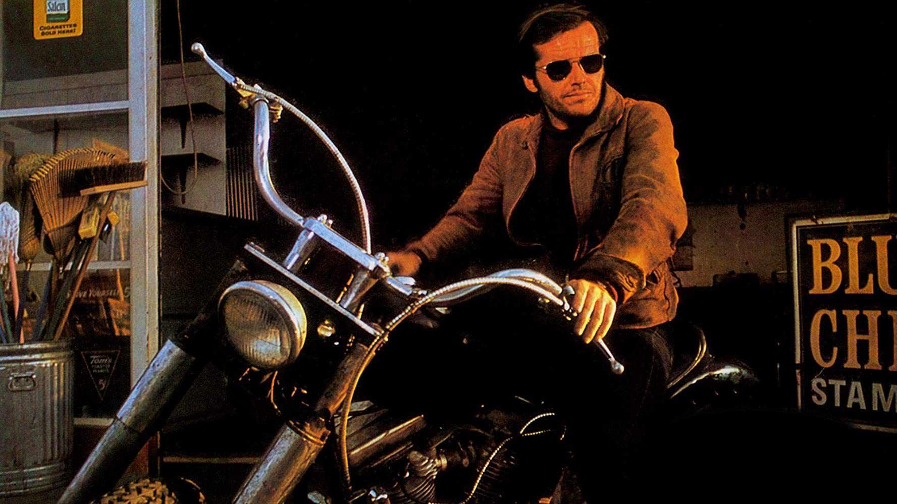 Jack Nicholson on a motorcylce in Hells Angels on Wheels (1967)