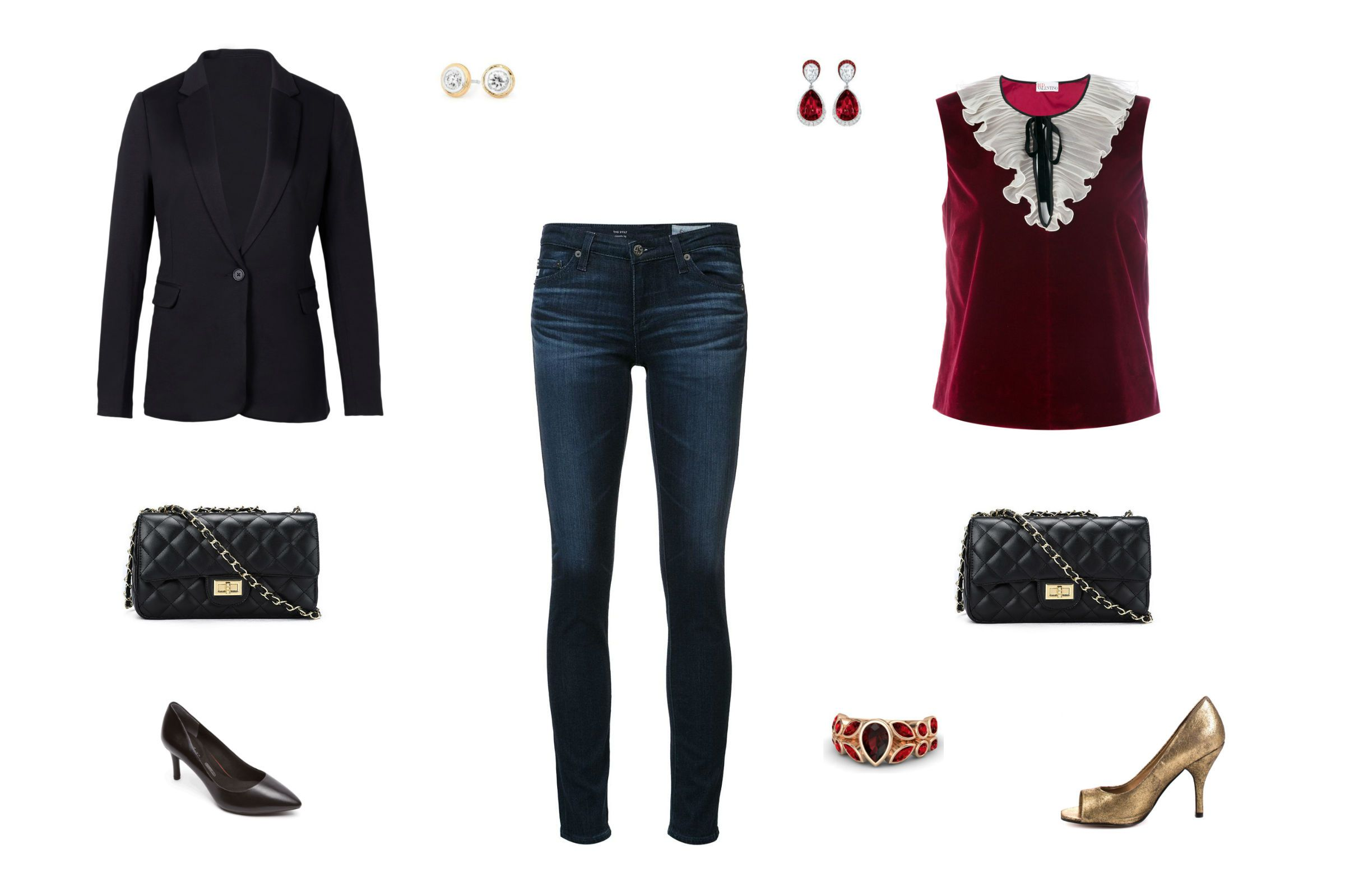 07970bc6b652 10 Ways to Dress Up Jeans for a Night Out