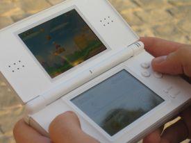 Super Mario Bros. game console