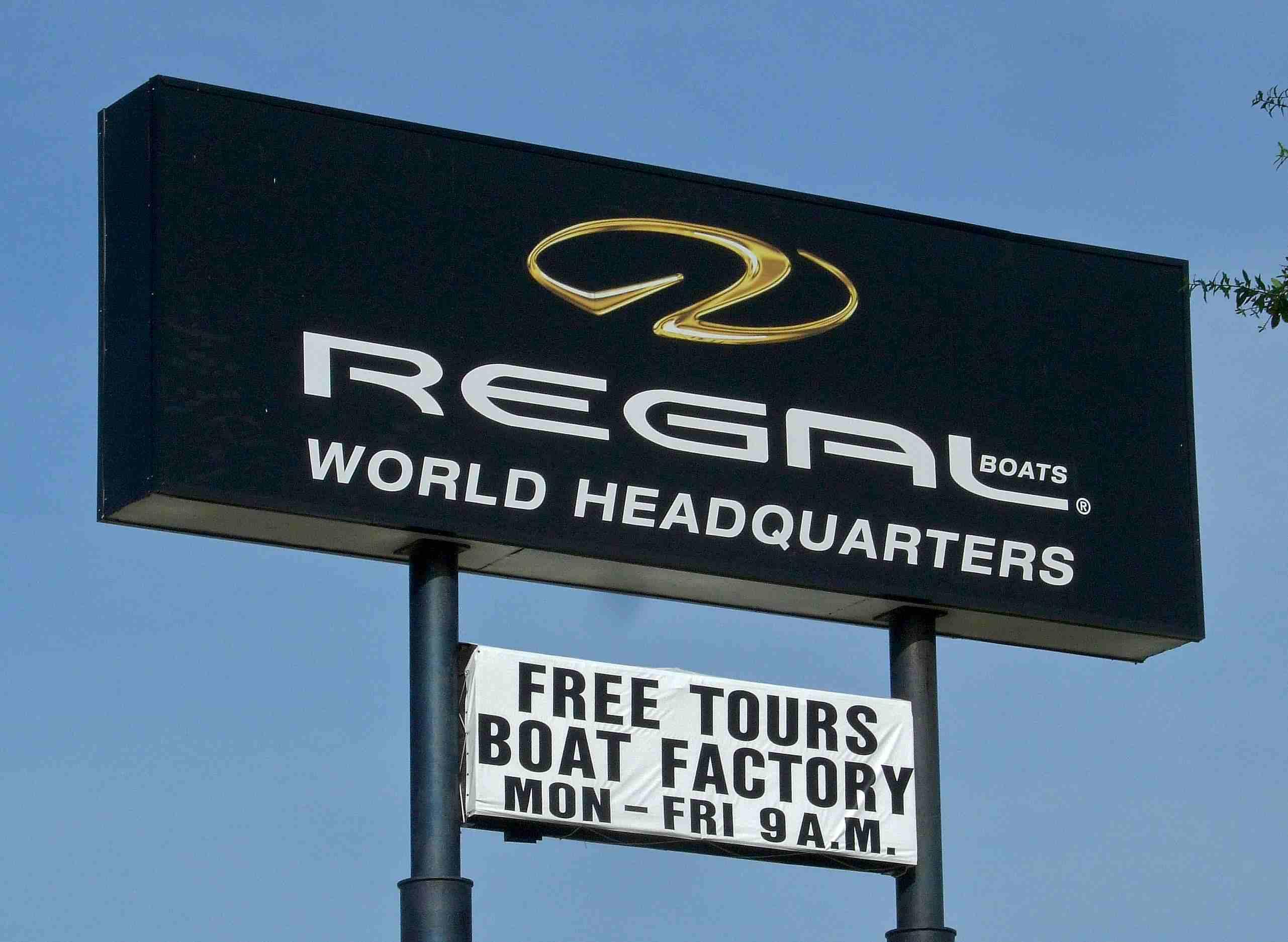Regal Boats Factory Tour