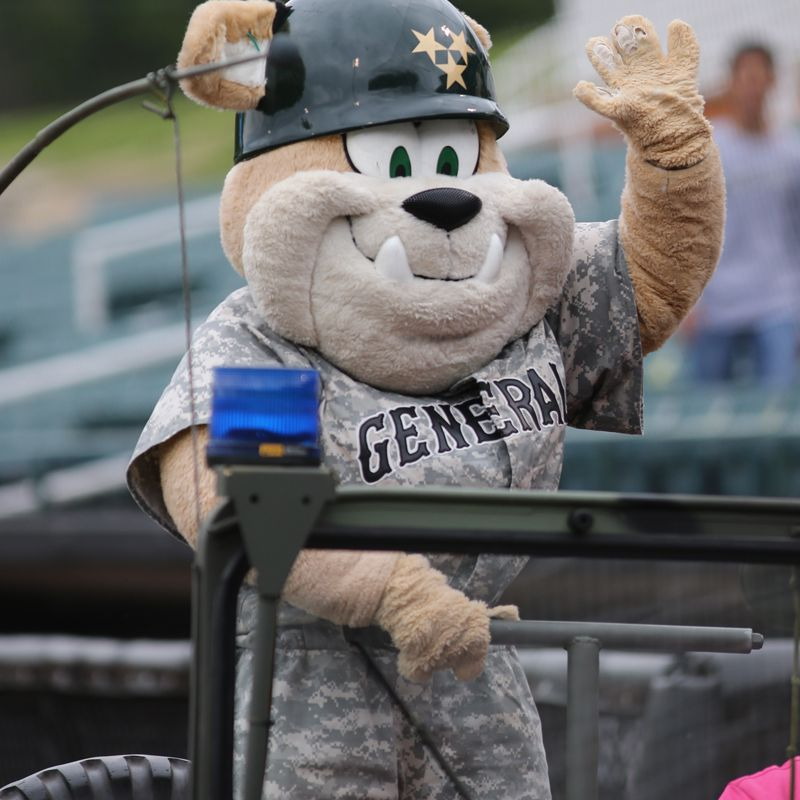 Jackson Generals AA Baseball Mascot